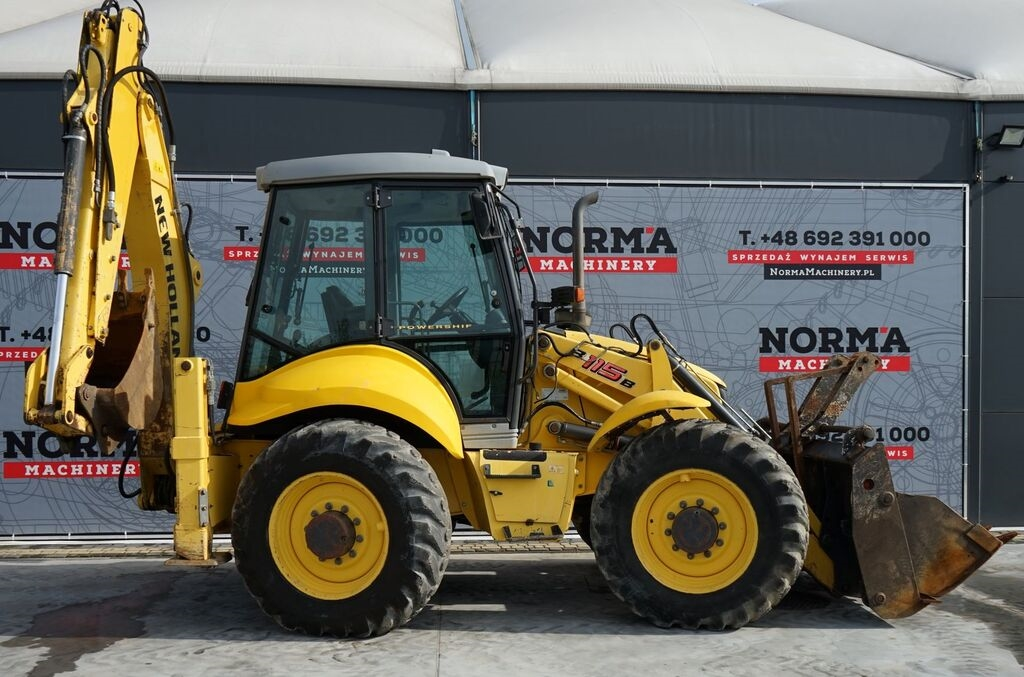 NEW HOLLAND LB 115B rendegraver