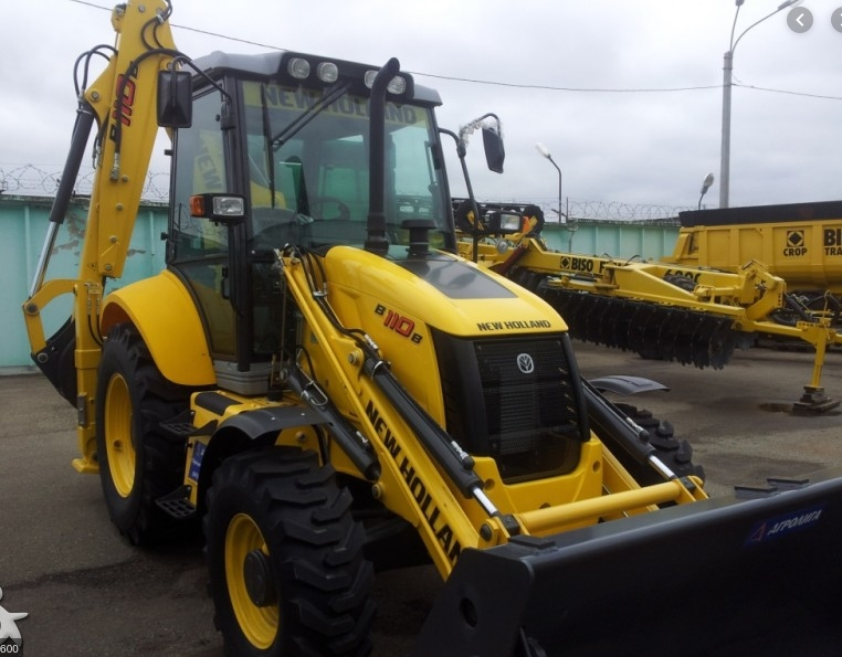 NEW HOLLAND B-110-B, 2015 rendegraver
