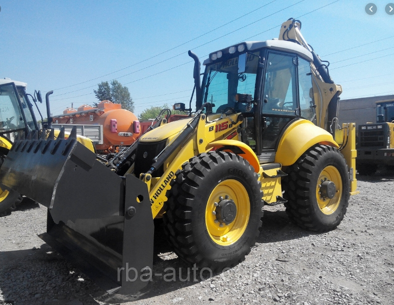 NEW HOLLAND B-115 B, 2014, FOR SALE rendegraver
