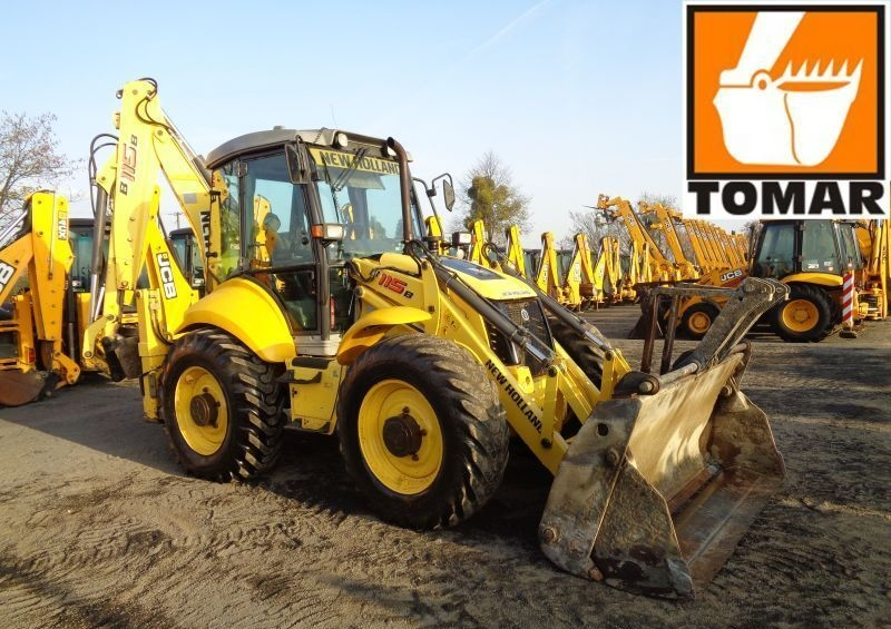 NEW HOLLAND B115B rendegraver