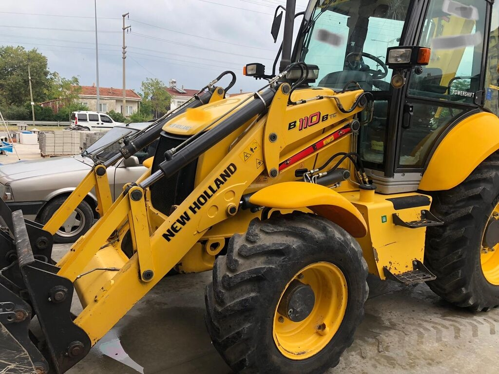 NEW HOLLAND B110 rendegraver