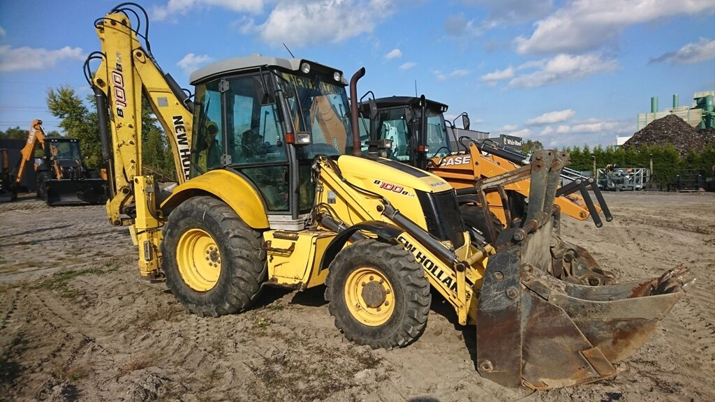 NEW HOLLAND B100B rendegraver