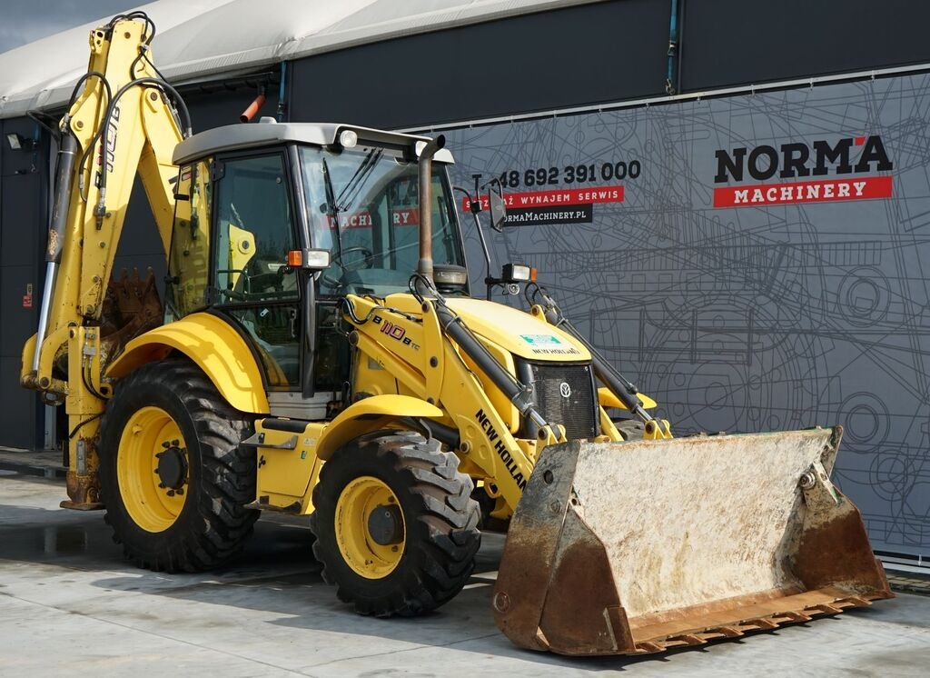 NEW HOLLAND B110B rendegraver