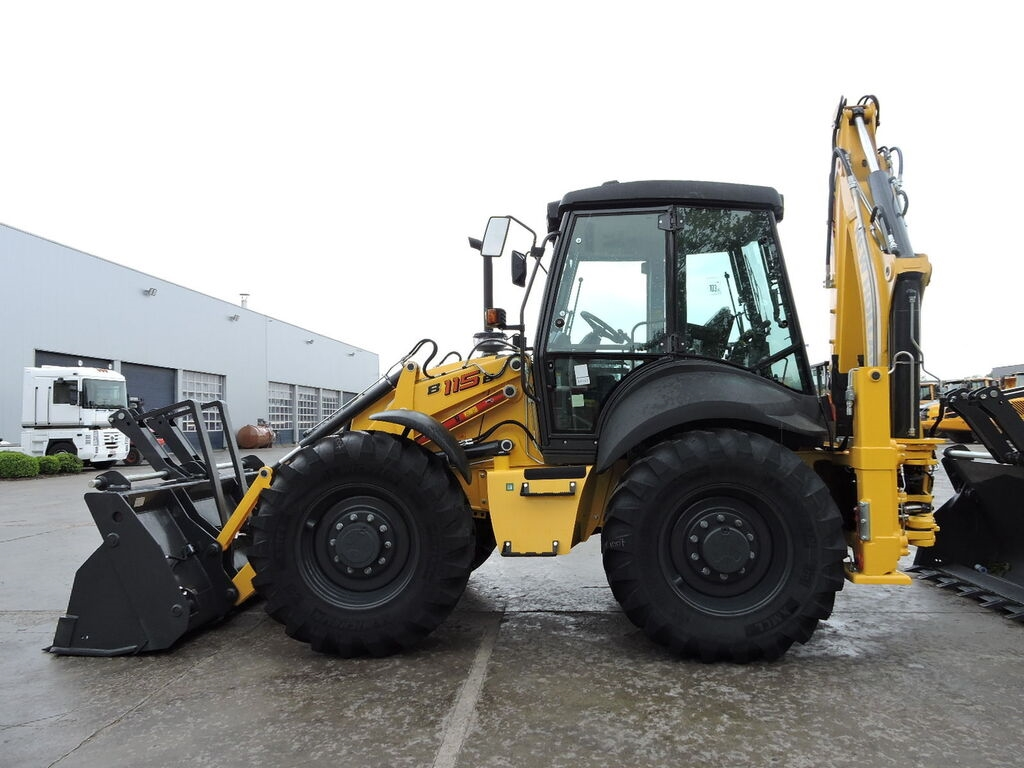 Ny NEW HOLLAND B 115B rendegraver